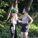 Lucy Hale – Hike at Fryman Canyon in Studio City
