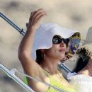 Irina Shayk in Bikini on holiday in Ibiza