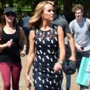 Amanda Holden at St James Park in London - 454 x 823