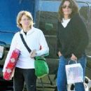 Jodie Foster and Cindy Mort