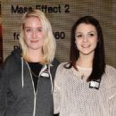 Lily Loveless and Kathryn Prescott