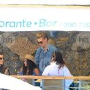 Vanessa Hudgens and Austin Butler mingled with model Luciana Gimenez Morad and her son Lucas Jagger in Portofino, Italy - 19 June 2016 - 388 x 600