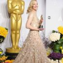 Cate Blanchett At The 86th Annual Academy Awards (2014) - Press Room - 454 x 617