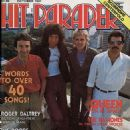 Hit Parader Magazine Cover [United States] (October 1981)