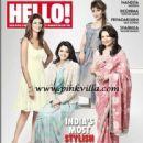 Sharmila Tagore - Hello! Magazine Pictorial [India] (March 2012) - 442 x 550