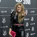Paulina Rubio-  '40 Principales' Awards Nominated Dinner 2018 - 454 x 302
