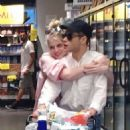 Lucy Boynton and Rami Malek – Shopping in Manhattan