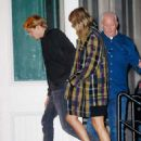 December 8, 2017 - Taylor Swift and Joe Alwyn arriving at her apartment in New York City - 454 x 607