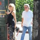 Goldie Hawn and Kurt Russell spotted at Lil Dom's in Silver Lake Saturday October 15, 2016 - 454 x 582