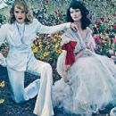 Amber Valletta,Shalom Harlow - Vogue Magazine Pictorial [United States] (January 2012)