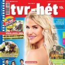Vivien Vasvári - Tvr-hét Magazine Cover [Hungary] (4 May 2020)