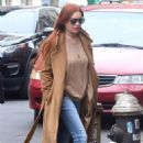 Lindsay Lohan – Leaves her apartment in New York City - 454 x 681