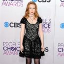 Molly C. Quinn attends the 2013 People's Choice Awards at Nokia Theatre L.A. Live in Los Angeles on Jan. 9, 2013 - 401 x 600