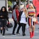 Blac Chyna In Downtown Los Angeles, California - March 15, 2018 - 454 x 302