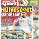 Nemzeti Sport - Nemzeti Sport Magazine Cover [Hungary] (7 August 2014)