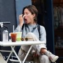 Rhona Mitra – Out in Notting Hill - 454 x 465