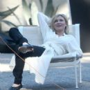 Kirsten Dunst On A Photoshoot In Los Angeles