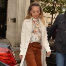 Rita Ora – Leaving BBC Radio Two in London - 454 x 764