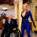 Pamela Anderson as the Invisible Girl in Superhero Movie