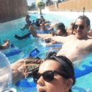 Katy Perry Enjoying The Lazy River Selfies