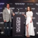 Emilia Clarke attends the Seoul Press Conference of