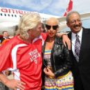 Amber Rose attends the Launch of Virgin America's First Flight from Los Angeles to Philadelphia at Los Angeles International Airport in Los Angeles, California - April 4, 2012 - 454 x 324
