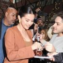 Selena Gomez – Leaves Live With Kelly and Ryan in New York City