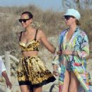 Irina Shayk – Seen at the beach in Ibiza