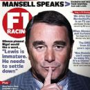 Nigel Mansell - F1 Racing Magazine Cover [United Kingdom] (October 2011)