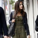 Camilla Belle Leaving The E Baldi Restaurant After Lunch