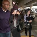 Selena Gomez Arriving At Lax Airport In Los Angeles