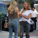 Audrina Patridge and Stephanie Pratt – Filming 'The Hills: New Beginnings' in Beverly Hills