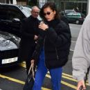 Bella Hadid – Arrives for Paris Mens Fashion Week 2020 in Paris
