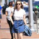 Gillian Jacobs Out and About in Beverly Hills 07/27/2016