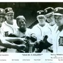 Titles: One In A Million: 1978 Full Feature People: LeVar Burton, Norm Cash, Jim Northrup, Bill Freehan, Raymond Rolak Character: Ron LeFlore, Baseball Player, Baseball Player, - 454 x 362