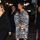 Camila Alves – Arrives on 'The Late Show' in NYC