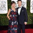 Benedict Cumberbatch, Sophie Hunter at the 72nd Annual Golden Globe Awards at the Beverley Hilton Hotel in Beverly Hills - 407 x 594