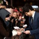 "Colin Morgan attends the UK Premiere of ""Testament of Youth"" at Empire Leicester Square on January 5, 2015 in London, England"