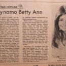 Betty Ann Carr - TV Time Magazine Pictorial [United States] (10 June 1973) - 454 x 326