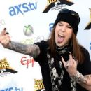 Alexi Laiho of Children of Bodom arrives at the 5th Annual Revolver Golden Gods Award Show at Club Nokia on May 2, 2013 in Los Angeles, California