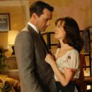 Jon Hamm and Rosemarie DeWitt in Mad Men (2007) - 454 x 681