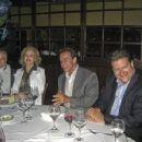 Betty Brosmer  with Joe Weider (husband),   Arnold Schwarzenegger