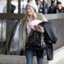 Dakota Fanning  LAX Airport - January 2, 2011