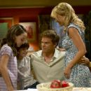 Christina Robinson As Astor, Preston Bailey As Cody, Michael C. Hall As Dexter And Julie Benz As Rita In Dexter