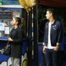 Sarah Hyland And Wells Adams – Seen At Pace Restaurant In Los Angeles
