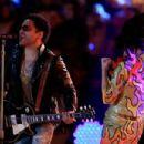 Lenny Kravitz-February 1, 2015-Superbowl Half Time Show