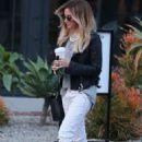 Ashley Tisdale Leaving Nine Zero One Salon On Melrose Place