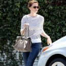 Mandy Moore leaving Bungalow Salon in Beverly Hills (July 6)