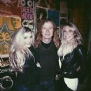 Dave & Pamela Mustaine with daughter Electra - 454 x 605