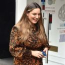 Kelly Brook – Arriving at the Global Studios for her Heart Radio show in London
